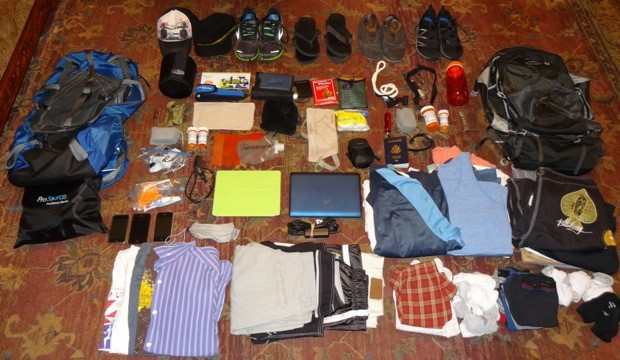 Top 10 Items to Pack for a Round the World Trip