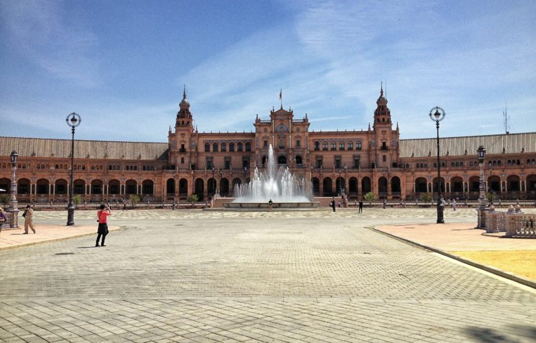 TwoBadTourists Talk: Seville's Plaza de España