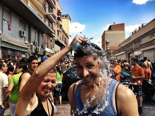 Wet & Wild Water War at La Batalla Naval