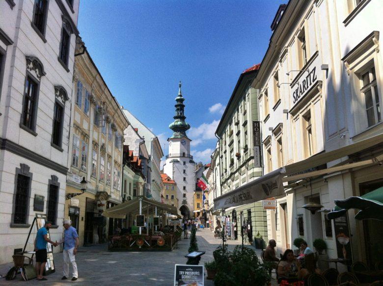 A Day Trip to Bratislava Slovakia