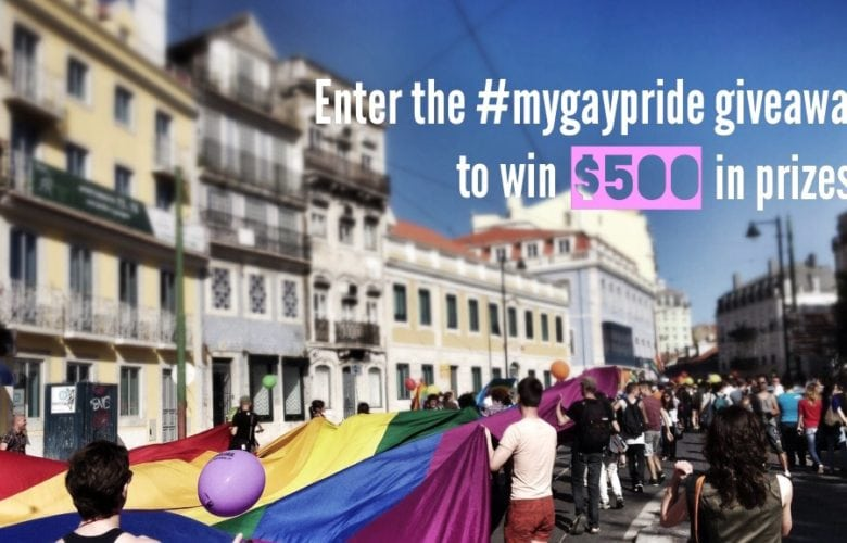 #mygaypride Giveaway: Enter Now to Win $500 in Prizes!