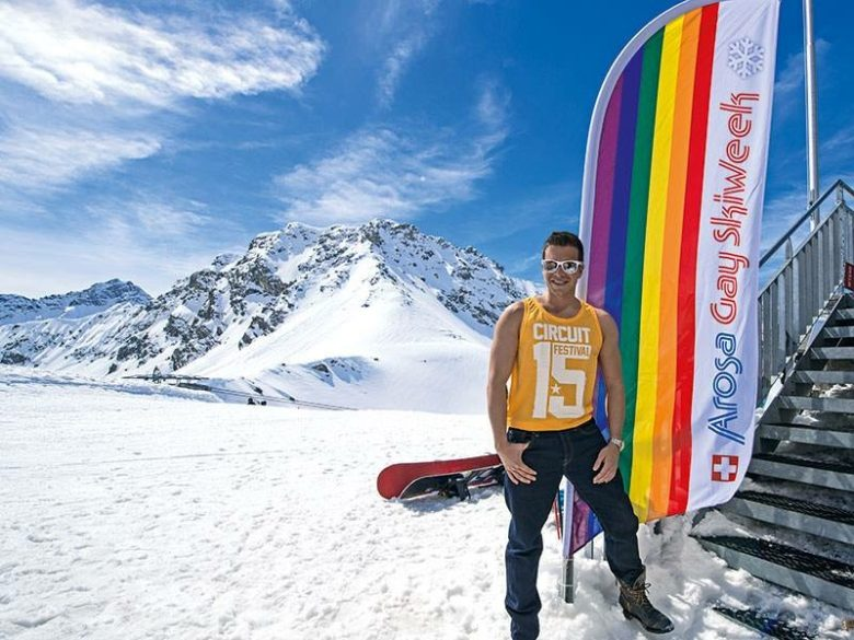 Join us in Switzerland for Arosa Gay Ski Week